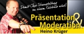 Heino Krüger Moderation und Präsentation Logo